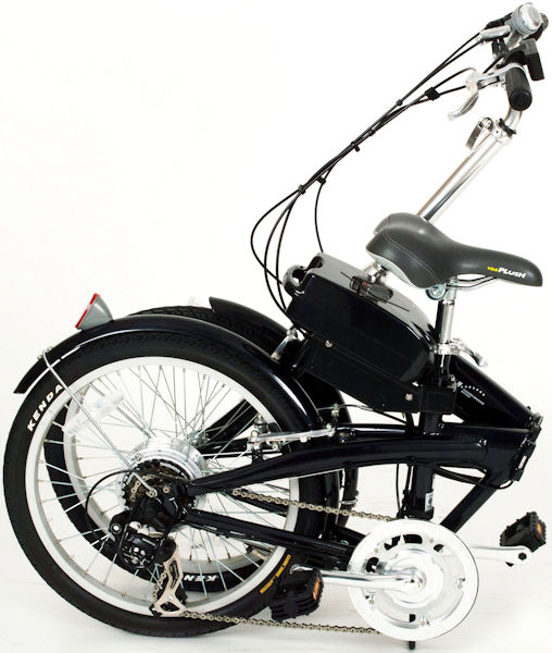 ミムゴスイスイ20インチ電動アシスト折り畳み自転車6段変速(ブラック)BM-A30BKMIMUGOSUISUIフォールディングバイク365【送料無料?メーカー直送?代引き不可】