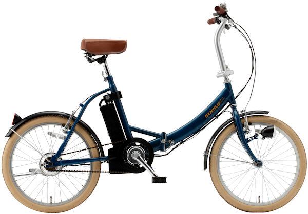 ミムゴ スイスイ 20インチ電動アシスト折り畳み自転車 (ネイビー) BM-E50NV MIMUGO SUISUI フォールディングバイク 365 【送料無料・メーカー直送・代引き不可】