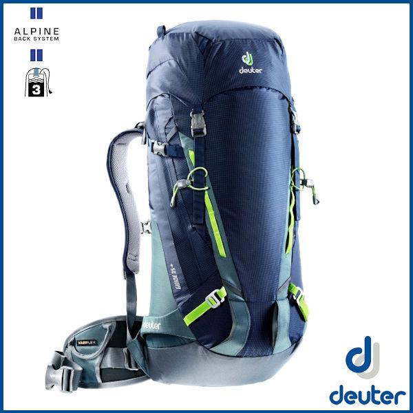 ドイター ガイド 35+ (ネイビー/グレー) deuter Guide 35 + バックパック リュック D3361117-3400