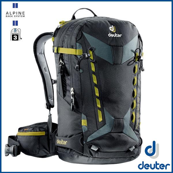 ドイター フリーライダー プロ 30 (ブラック/グレー) deuter Freerider Pro 30 バックパック リュック D3303417-7410