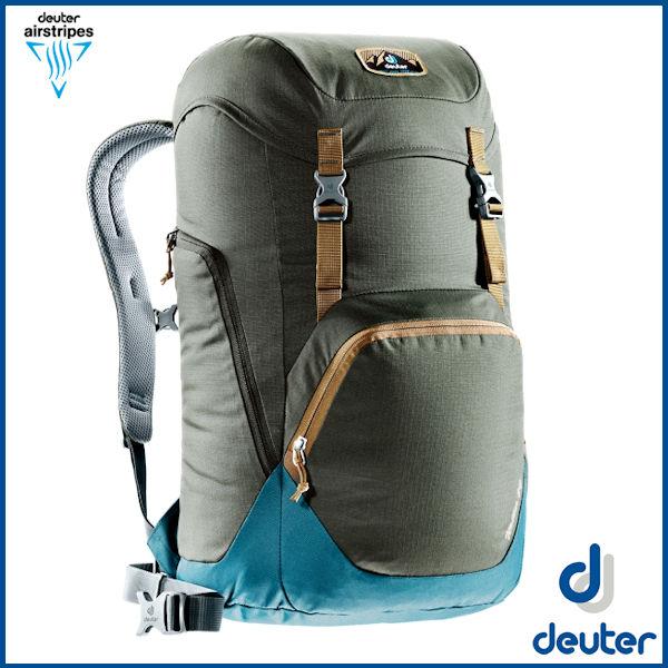 ドイター ウォーカー 24 (コーヒー/デニム) deuter Walker 24 バックパック リュック D3810717-6308