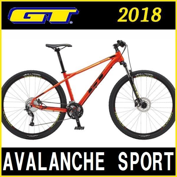 マウンテンバイク GT AVALANCHE SPORT (レッド) 2018 ジーティー アバランチェ スポーツ