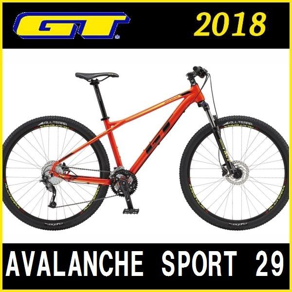 マウンテンバイク GT AVALANCHE SPORT 29 (レッド) 2018 ジーティー アバランチェ スポーツ 29