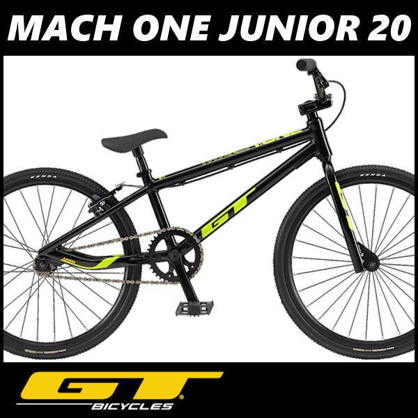 BMX GT MACH ONE JUNIOR 20 (ブラック) 2018 ジーティー マッハワン ジュニア 20