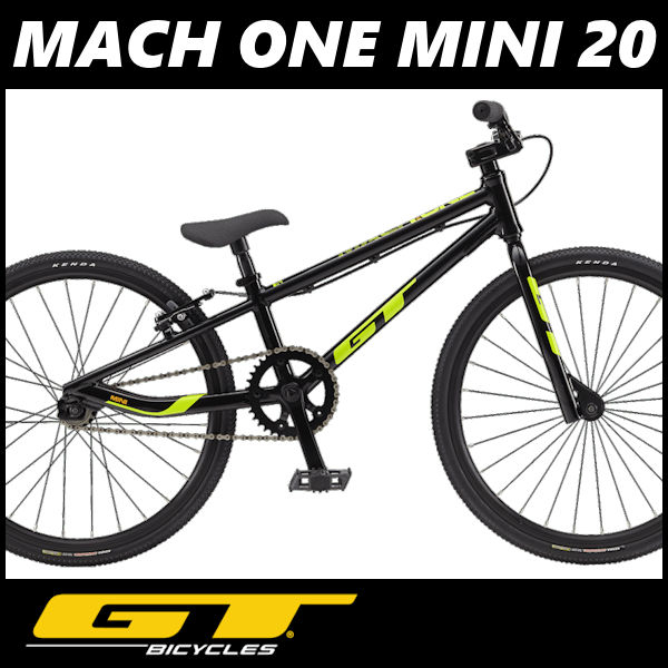 BMX GT MACH ONE MINI 20 (ブラック) 2018 ジーティー マッハワン ミニ 20