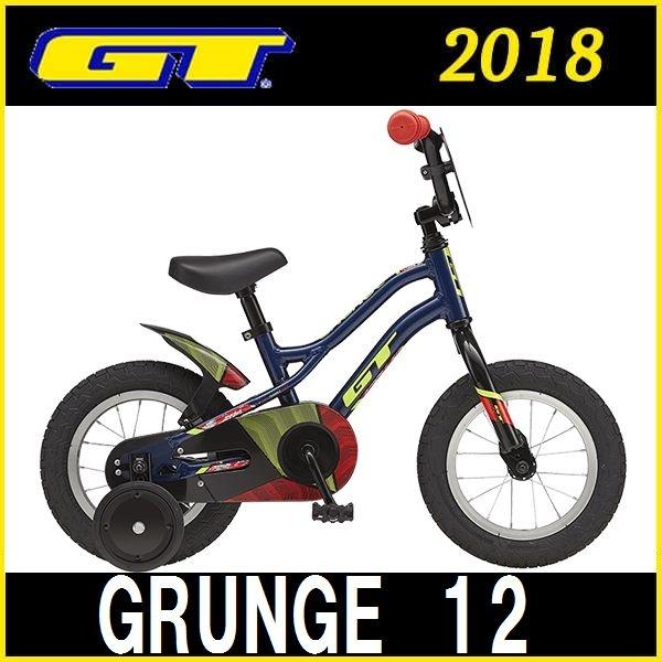 子供用自転車 GT GRUNGE 12 (ネイビー) 2018 ジーティー グランジ 12