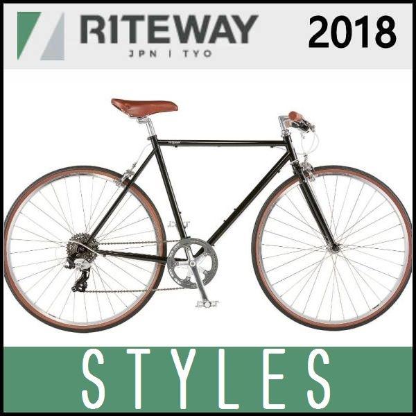 最高級 クロスバイク ライトウェイ クロスバイク スタイルス (グロスブラック) ライトウェイ 2018 2018 RITEWAY STYLES, 再生屋:a6b4d801 --- blog.schroeder-roadshow.de