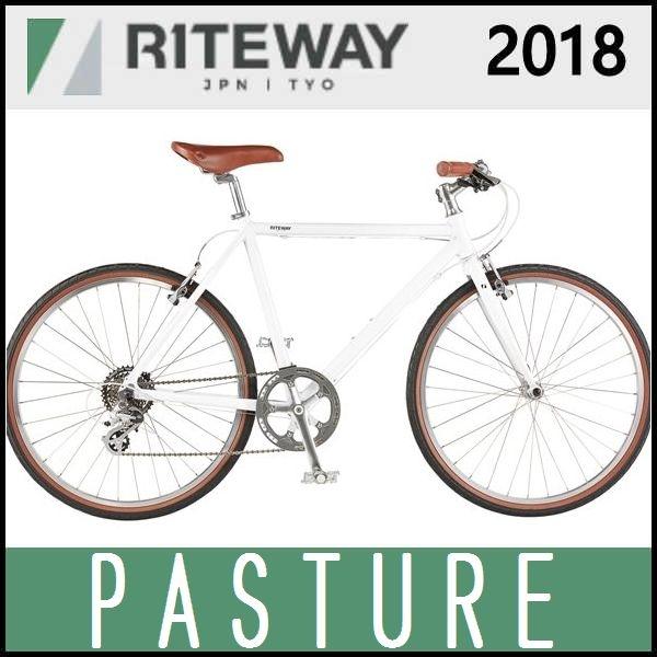 クロスバイク ライトウェイ パスチャー (グロスホワイト) 2018 RITEWAY PASTURE
