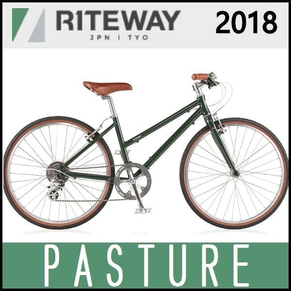 クロスバイク ライトウェイ パスチャー (グロスグリーンオリーブ) 2018 RITEWAY PASTURE