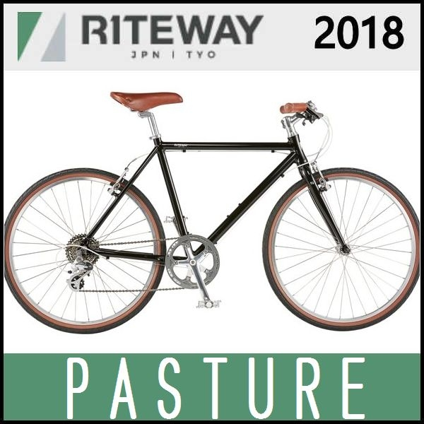 クロスバイク ライトウェイ パスチャー (グロスブラック) 2018 RITEWAY PASTURE