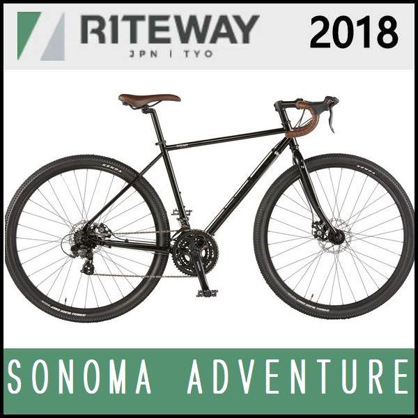 グラベルロードバイク ライトウェイ ソノマ アドベンチャー (グロスブラック) 2018 RITEWAY SONOMA ADVENTURE