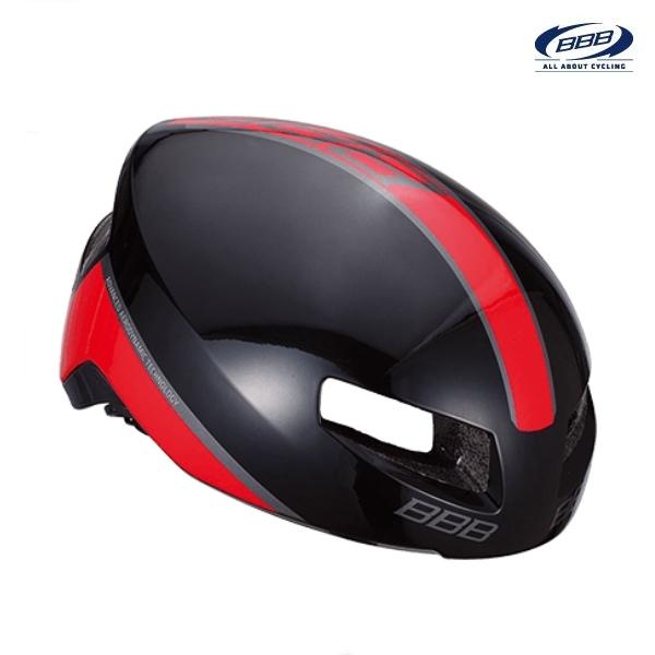 (BBB)ヘルメット BHE-08 TITHON V2 ティトノス V2/ グロッシーブラック/レッド