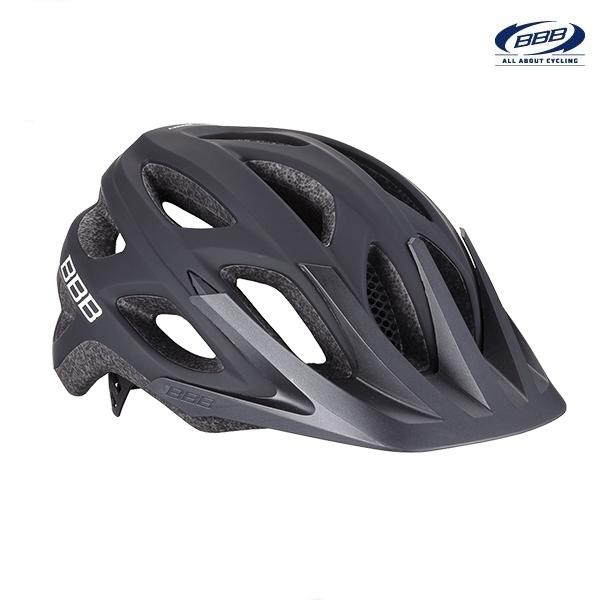 (BBB)ヘルメット BHE-67 VARALLO バラロ (ソリッドマットブラック)(サイクルヘルメット)