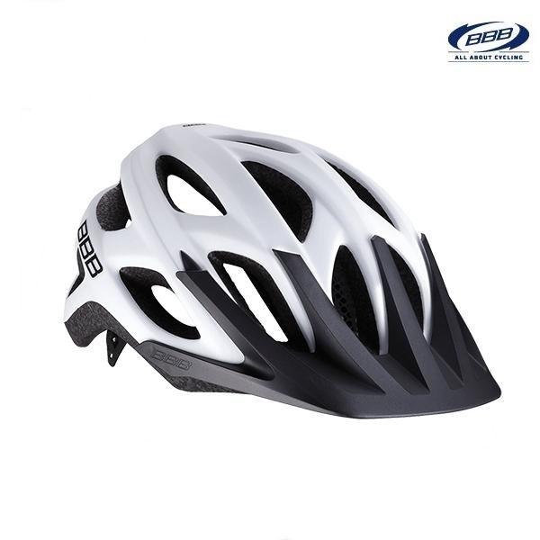 (BBB)ヘルメット BHE-67 VARALLO バラロ (ソリッドマットホワイト)(サイクルヘルメット)
