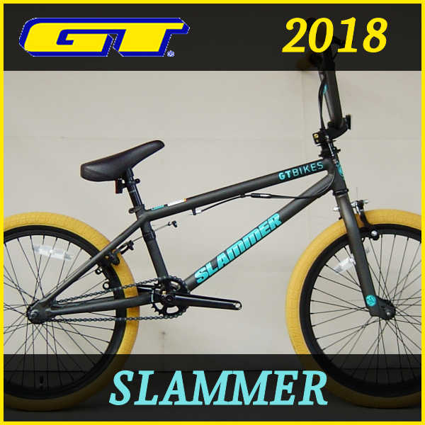 BMX ジーティー スラマー (ブラック) 2018 GT SLAMMER