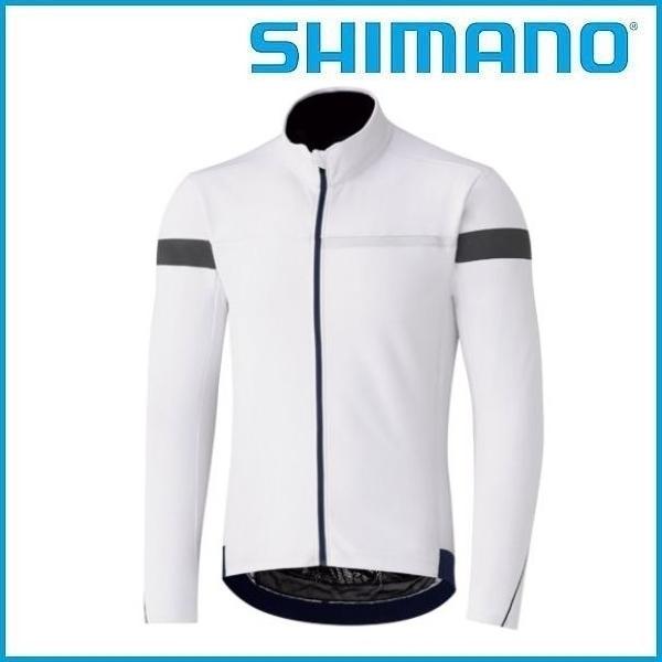 SHIMANO ウインドブレーク ジャージ (ホワイト) シマノ メンズ サイクル ウェア Mens