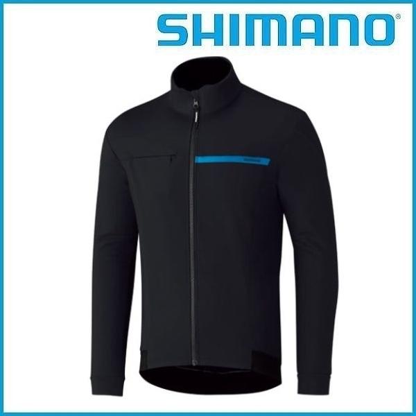 SHIMANO ウインドブレーク ジャケット (ブラック) シマノ メンズ サイクル ウェア Mens
