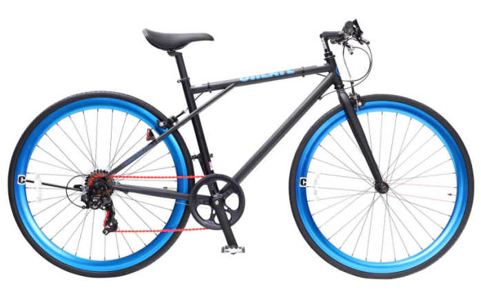 クロスバイク CREATE bikes C210 クリエイトバイク 700c 6段変速【送料無料・メーカー直送・代引不可】