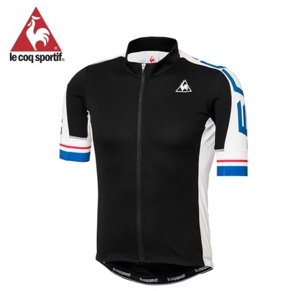 ルコック 3D エンデューロジャージ (QCMLGA41) 半袖 サイクル ウェア le coq sportif (BLK)/ Lサイズ