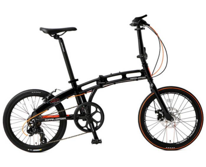 折り畳み自転車 ドッぺルギャンガー 20インチアルミ折りたたみ自転車7段変速付 211-R-DP (ブラック×オレンジ) (DOPPELGANGER 211-R-DP blackmax assaultpack) 折畳み自転車【送料無料・メーカー直送・代引不可】
