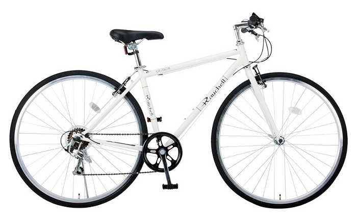 クロスバイク Raychell CR-7007R (ホワイト 35653) レイチェル オオトモ 700Cクラスカルクロスバイク 【送料無料・メーカー直送・代引不可】