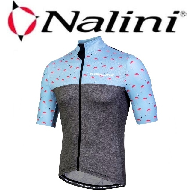 Nalini(ナリーニ)AHS CENTENARIO (半袖ジャージ)4180 LIGHT BLUE |Mサイズ
