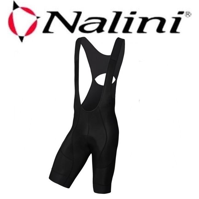 Nalini(ナリーニ) AHS MARMOTTE BIBSHORT (ビブショーツ)4000 BLACK |Mサイズ