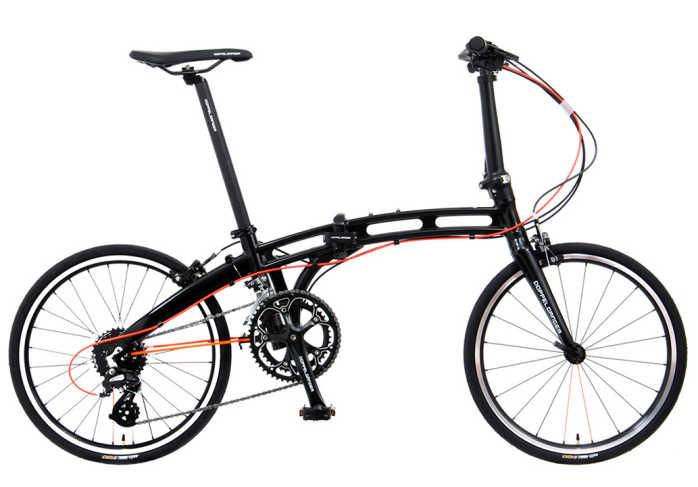 折り畳み自転車 ドッぺルギャンガー 20インチアルミ折りたたみ自転車16段変速付 202X (プレミアムジェットブラック) (DOPPELGANGER 202X Giant Killing) 折畳み自転車【送料無料・メーカー直送・代引不可】