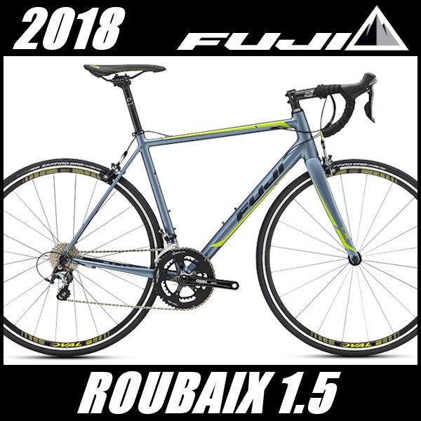 ロードバイク フジ ルーベ 1.5 (ストームシルバー) 2018 FUJI ROUBAIX 1.5(店舗受け取り限定)