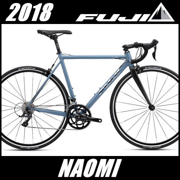 ロードバイク フジ ナオミ (マットグレー/ブルー) 2018 FUJI NAOMI