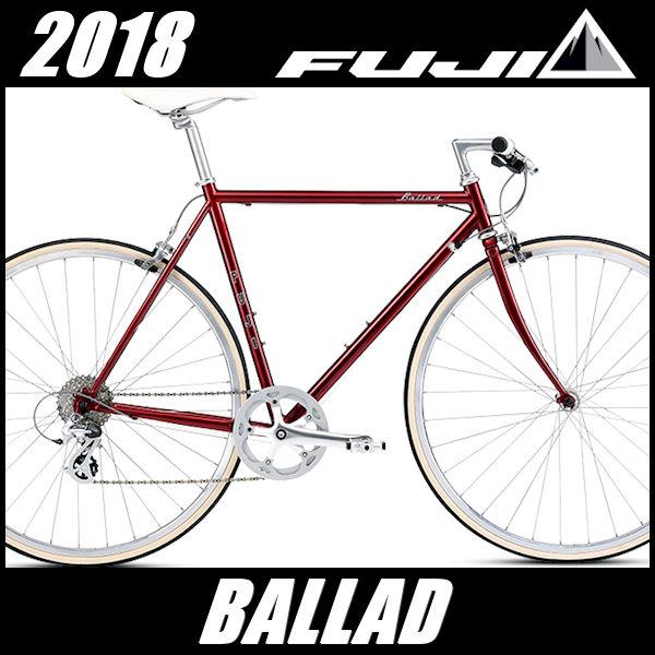 最適な価格 クロスバイク 2018 フジ FUJI バラッド (ボルドー) BALLAD 2018 FUJI BALLAD, ニマグン:16157bdf --- canoncity.azurewebsites.net