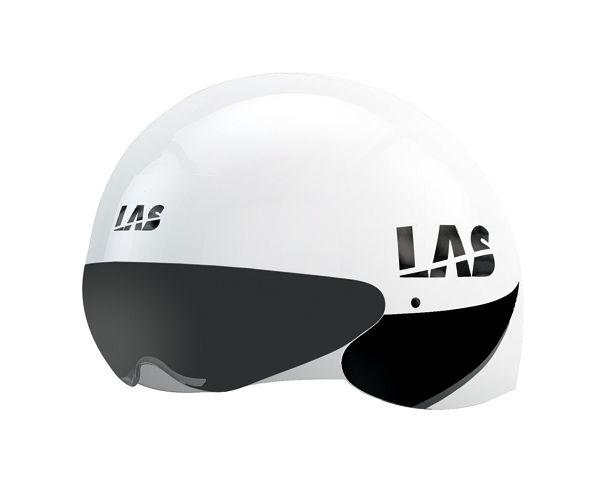 LAS CRONOMETRO サイクリング ヘルメット (ホワイト) ラス クロノメトロ 自転車