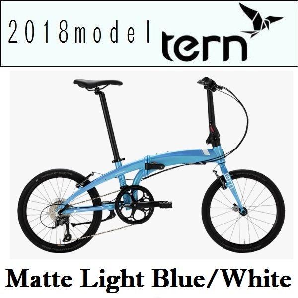 名作 折りたたみ自転車 ターン ヴァージュ 2018 N8 (マットライトブルー ヴァージュ/ホワイト) ターン 2018 TERN VERGE N8 フォールディングバイク, グリーンコンシューマーのお店:a7331c2c --- canoncity.azurewebsites.net