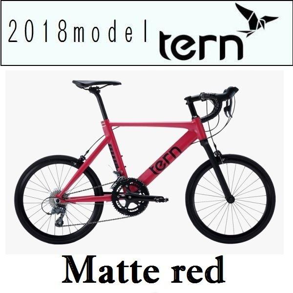 ミニベロ ターン サージュ (マットレッド) 2018 TERN SURGE 小径自転車