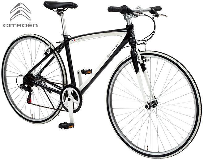 クロスバイク CITROEN AL-CRB7006NX (ナイトブラック/ホワイト) シトロエン AL CRB 7006 NX CROSS BIKE