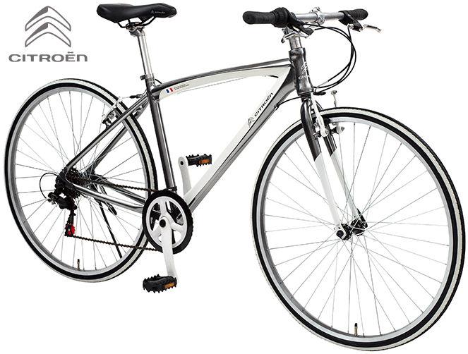 クロスバイク CITROEN AL-CRB7006NX (シャンパンシルバー/ホワイト) シトロエン AL CRB 7006 NX CROSS BIKE