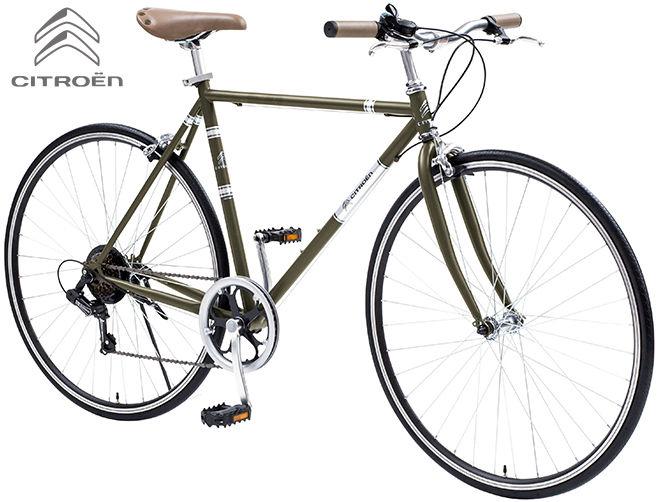 クロスバイク CITROEN TR7006 (オリーブグリーン) シトロエン TR 7006 CROSS BIKE