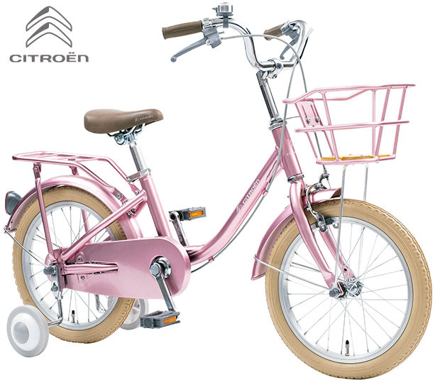 子供用自転車 CITROEN AL-KID'S16CJ (シャンパンピンク) シトロエン AL KID 16 CJ 幼児用自転車