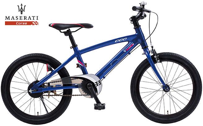 子供用自転車 MASERATI AL-KID'S18 (マセラティブルー) マセラティ AL KID 18 キッズ サイクル