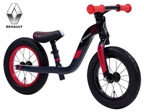 子供用自転車 RENAULT ULTRA LIGHT TRAINEE (ブラック) ルノー ウルトラ ライト トレーニー 幼児用自転車 キックバイク