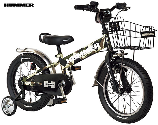 子供用自転車 HUMMER KID'S TANK3.0-SE (カモフラージュグリーン) ハマー キッズ タンク 3.0 SE 幼児用自転車