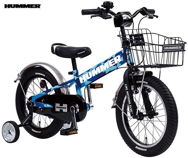 子供用自転車 HUMMER KID'S TANK3.0-SE (カモフラージュブルー) ハマー キッズ タンク 3.0 SE 幼児用自転車
