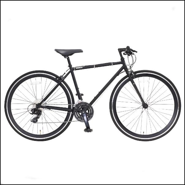 OSSO (オッソ)R330-CR-520-MBK クロスバイク ストリートバイク (マットブラック) |520mm