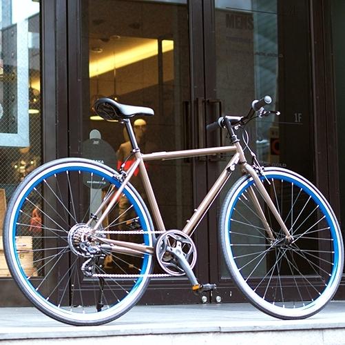 【スーパーセール】 OSSO OSSO (オッソ)R310-CR-BR クロスバイク ストリートバイク (ブラウン) クロスバイク 520mm 520mm, 明りと香り本舗:b955e73d --- konecti.dominiotemporario.com