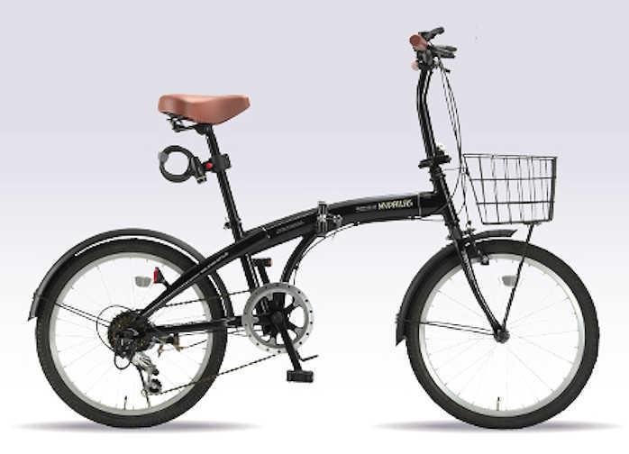 折り畳み自転車 20インチ6段変速付き折りたたみ自転車 マイパラスHCS-01 (ブラック) (MYPALLAS HCS-01) 折畳み自転車【送料無料・メーカー直送・代引不可】
