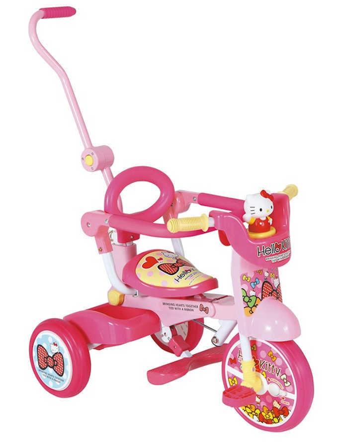 My Pallas(マイパラス) 折りたたみ三輪車 ハローキティオールインワン+F 子ども用 M0301【送料無料・メーカー直送・代引不可】