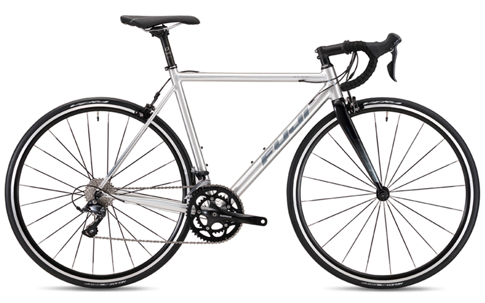ロードバイク フジ ナオミ (Brushed Aluminum)2019 FUJI NAOMI