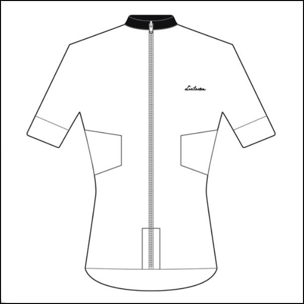 LINTAMAN CYCLING WEAR リンタマン・サイクリングウェア / ADAPT SUMMER JERSEY ホワイト   Sサイズ