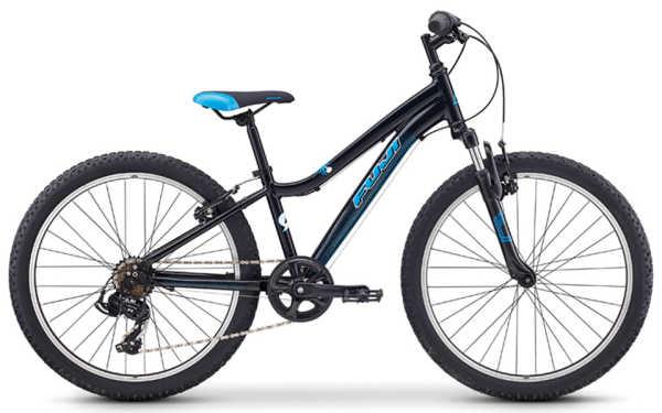 子供用自転車 フジ ダイナマイト 24 (ブラック/ブルー) 2019 FUJI DYNAMITE 24 マウンテンバイク