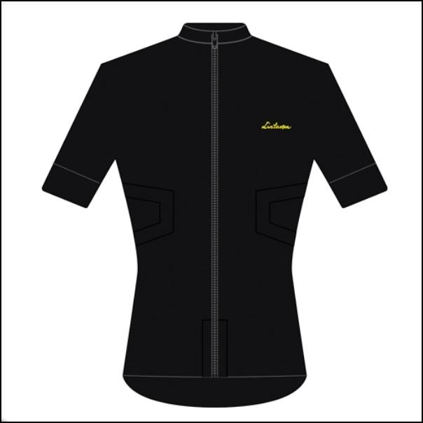 LINTAMAN CYCLING WEAR リンタマン・サイクリングウェア /ADAPT STANDARDJERSEY ブラック  Lサイズ